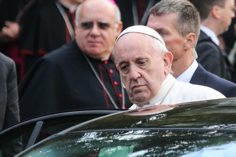 Trečią savo vizito Irake dieną popiežius Pranciškus planuoja apsilankyti šiaurinėje šalies dalyje.<br>R.Danisevičiaus nuotr.
