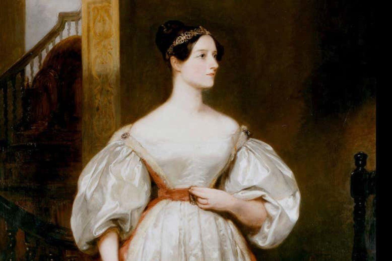Pirmoji programuotoja – Ada Lovelace (1815 – 1852 m.).