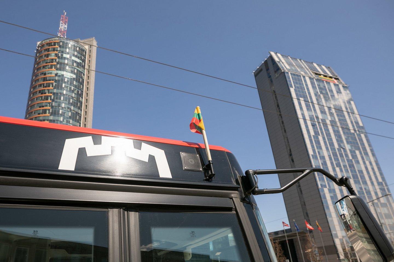 Kovo 11-ąją viešasis transportas Vilniuje kursuos pagal sekmadienio ir šventinės dienos tvarkaraščius.<br>Pranešėjų spaudai nuotr.