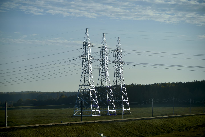 50 km nuo Vilniaus nutolusi Astravo atominė elektrinė veikia nuo rudens.<br>V.Ščiavinsko nuotr.