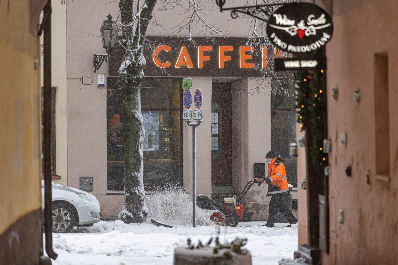 Už nevalytas teritorijas Vilniuje rangovams skirta per 340 tūkst. eurų.<br>S.Žiūros nuotr.