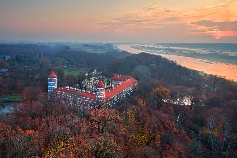 Dar ir dabar galima leistis į virtualų turą po Panemunės pilį.<br>J.Dikšaitytės nuotr.