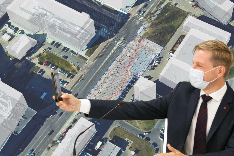 R. Šimašius po vilniečių pasipiktinimo dėl galimai dar vienos naujos degalinės Saltoniškėse statybos, patikino jog ten degalinės tikrai nebus.<br>lrytas.lt monatažas