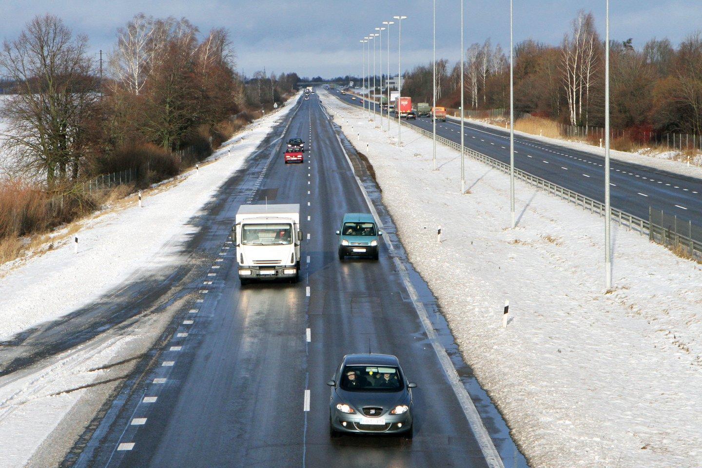 Jau už mėnesio įvažiavimas ir išvažiamas iš Klaipėdos miesto keisis.<br>M.Patašiaus nuotr.