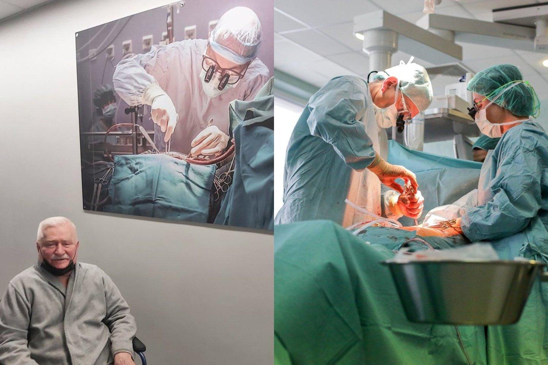 Lechas Walesa sekmadienį socialinėje žiniasklaidoje paskelbė emocingą vaizdo įrašą, prieš guldamasis į ligoninę operacijai.<br>Lrytas.lt fotomontažas.