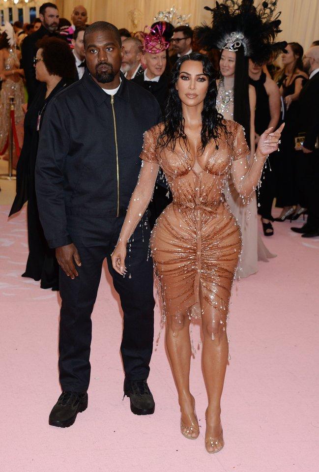 Kim Kardashian ir Kanye Westas.<br>Scanpix nuotr.