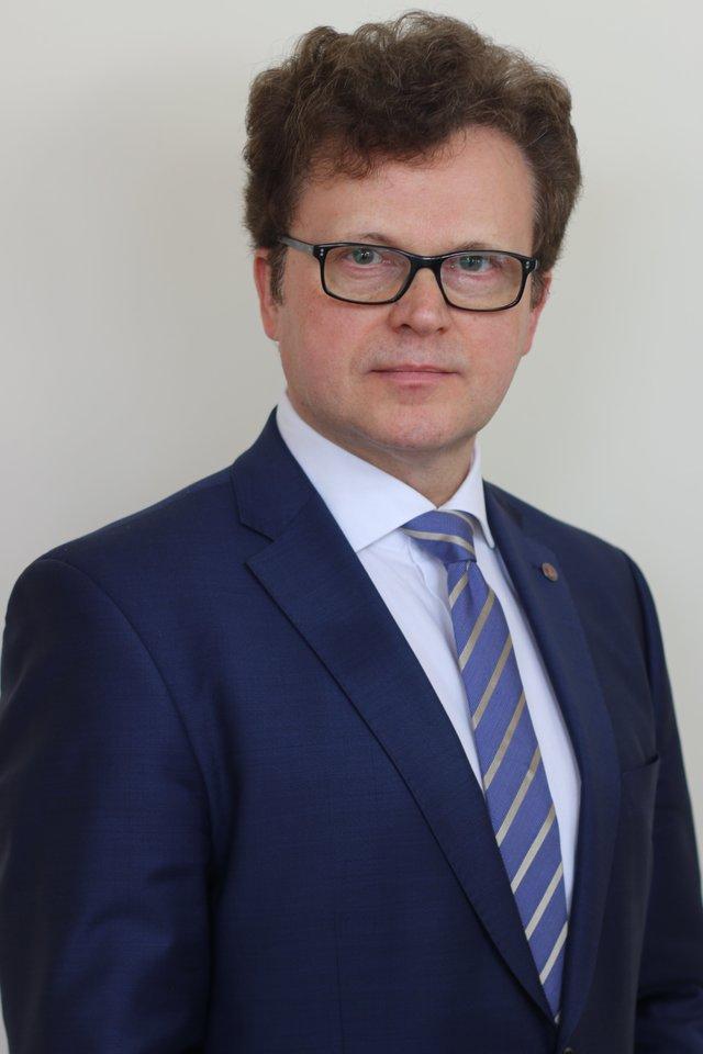 Vilniaus universiteto Medicinos fakulteto Sveikatos mokslų instituto Visuomenės sveikatos katedros vedėjas, profesorius dr. Rimantas Stukas.