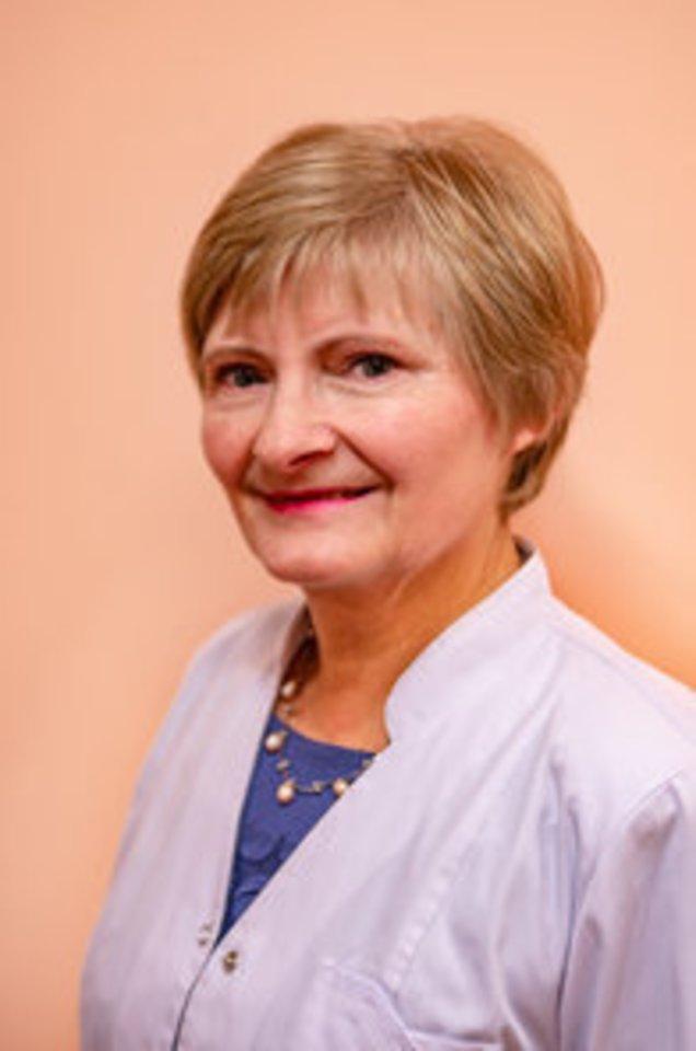 oftalmologė Irena Laurinavičienė<br>Pranešimo spaudai nuotr.