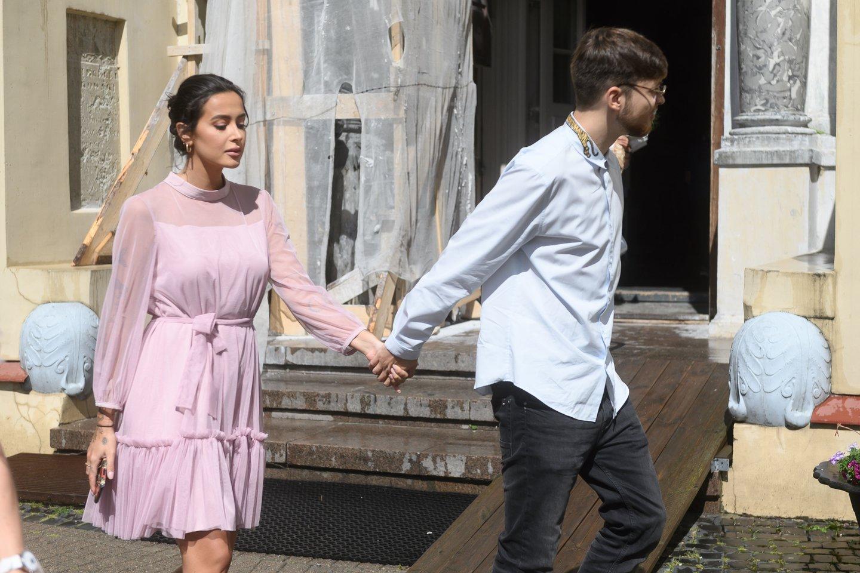 Karolina Meschino ir Dominykas Ježerys-OG Version 2020-ųjų liepą.<br>V.Skaraičio nuotr.
