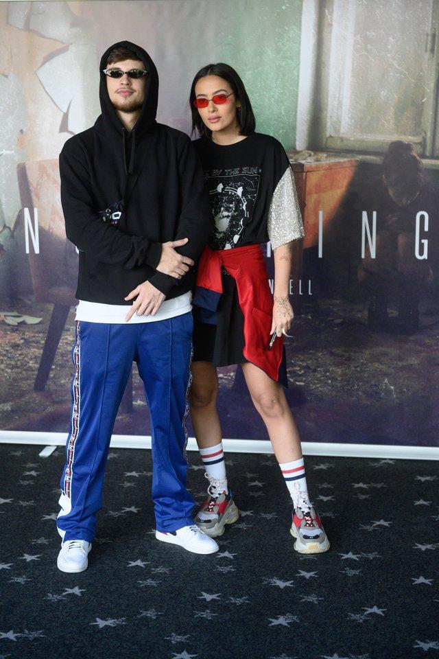 Dominykas Ježerys-OG Version ir Karolina Meschino 2020-ųjų birželį.<br>V.Skaraičio nuotr.