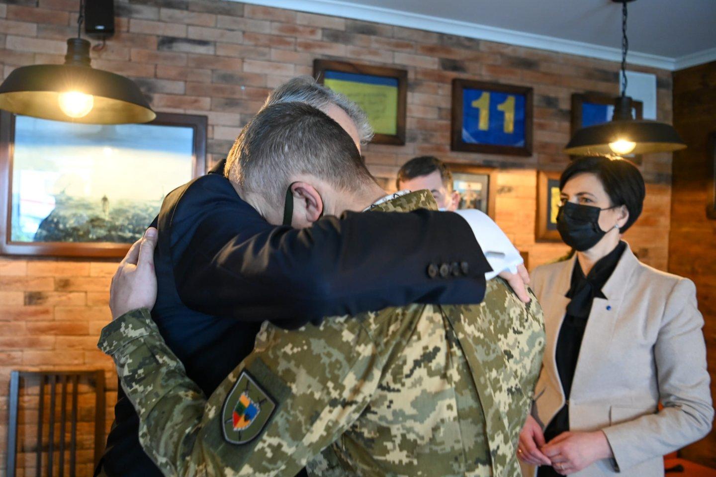 Susitikimas su kariais veteranais.<br>Gintano Nausėdos/Facebook nuotr.