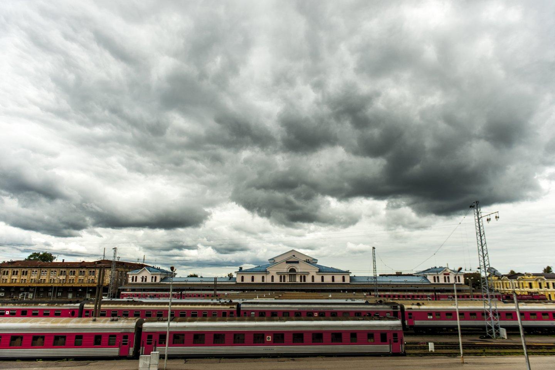 Vilniaus stoties rajoną tikimasi pertvarkyti iki 2030-ųjų.<br>V.Ščiavinsko nuotr.