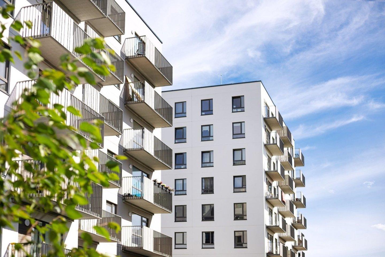 """Pagreitį įgavę naujo būsto pardavimai Vilniuje nestoja – NT plėtros bendrovės """"Realco"""" duomenimis, šiemet iki kovo vidurio sostinėje parduota 1630 butų, o tai yra 13 proc. daugiau nei per tą patį laikotarpį pernai. Bendrovės """"Realco"""" atlikta parduotų butų analizė atskleidžia, ko ieško vilniečiai – greičiausiai išgraibstomi butai su gražiu vaizdu pro langą ir terasomis, populiarėja kampiniai butai.<br>Autorių nuotr."""
