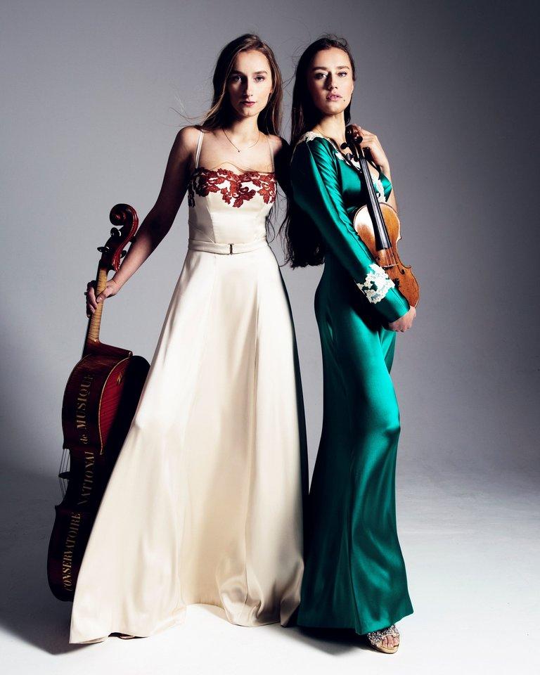 Margarita ir Kristinė Balanas.<br>Organizatorių nuotr.