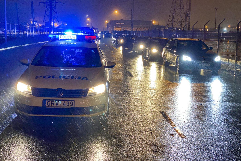 Per praėjusią savaitę Klaipėdos apskrities Kelių policijos pareigūnai išaiškino penkis neblaivius vairuotojus.<br>V.Ščiavinsko nuotr.