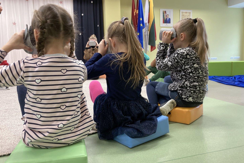 """Virtualiosios realybėsakiniai teatrinei edukacijai kol kas sistemingai nebuvo taikomi nė vienoje ES valstybėje.<br>""""Gluosnio"""" archyvo nuotr."""