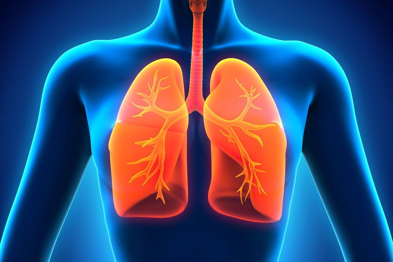 Tuberkuliozė - skausminga ir pavojinga liga, tačiau 27 metų moteris ją sau diagnozavo neteisingai. Ji tiesiog buvo įkvėpusi prezervatyvą.<br>123rf iliustr.