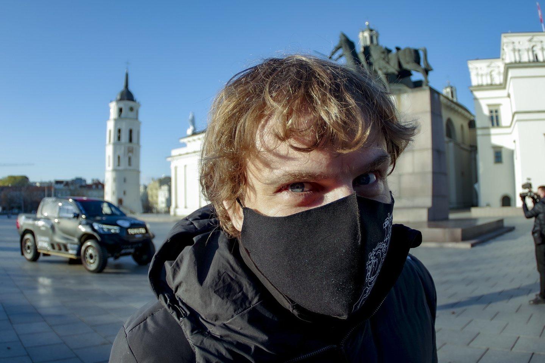 Policija, už chuliganišką vairavimą ir kitus KET pažeidimus nubaudusi N.Daunoravičių, šiuo veiksmu užbrėžė raudoną liniją, sako B.Vanagas.<br>V.Ščiavinsko nuotr.