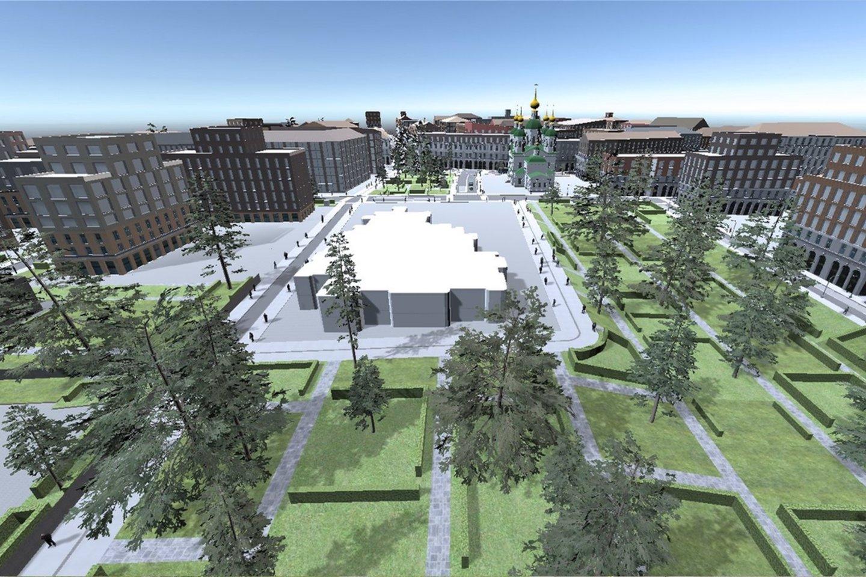 Kyla klausimas – kur sutalpinti žmones, norinčius gyventi sostinėje? Ar esami Vilniaus miesto rajonai turi potencialo priimti daugiau žmonių, o gal sostinė plėsis į miesto pakraščius?<br>Vizual.