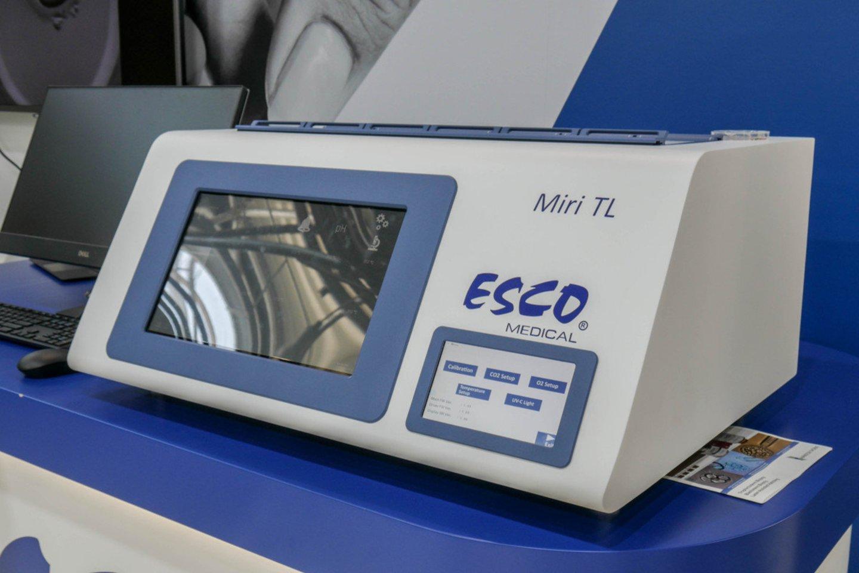 Inkubatorius, kuriame veikia embrionu vertinimo DI algoritmas.<br>KTU nuotr.