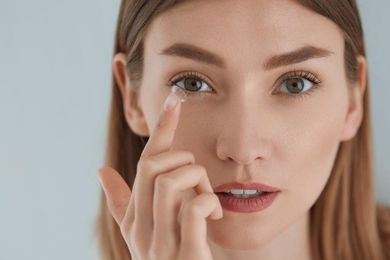 Nauja technologija leis be skausmo diagnozuoti, ar anksti nustatyti daugelį akių ligų, įskaitant glaukomą.<br>123rf nuotr.