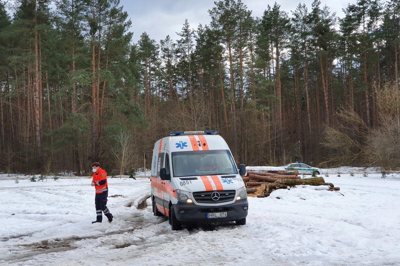 Treneris Vaidas Rimkus žuvo vasario 27 gelbėdamas savo augintinį.<br>Lrytas.lt nuotr.