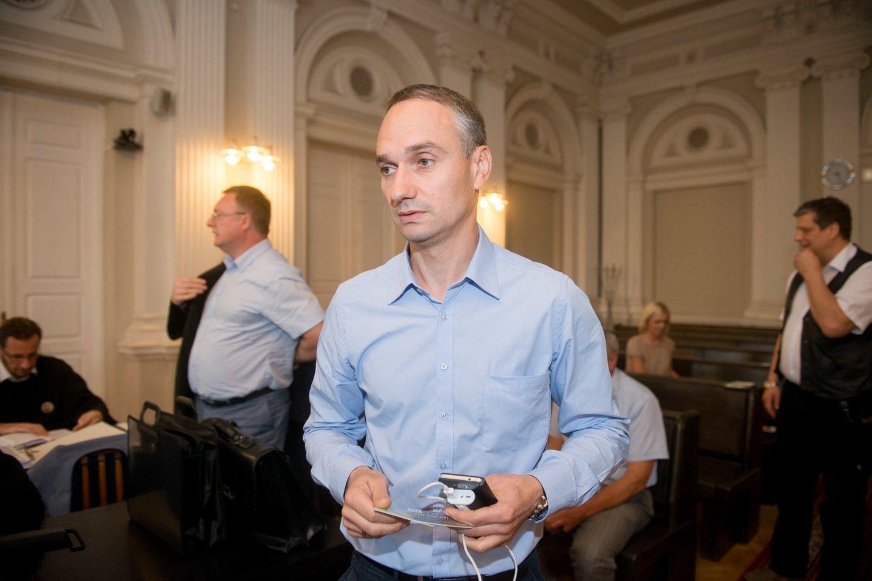 M. Balčiūnas neigia kalbas: kvietimo dalvauti LKF prezidento rinkimuose iš R. Kaukėno nėra gavęs.<br>J.Stacevičiaus nuotr.