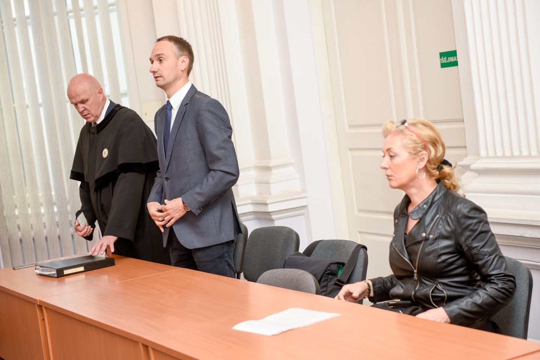 M. Balčiūnas neigia kalbas: kvietimo dalvauti LKF prezidento rinkimuose iš R. Kaukėno nėra gavęs.<br>D.Umbraso nuotr.