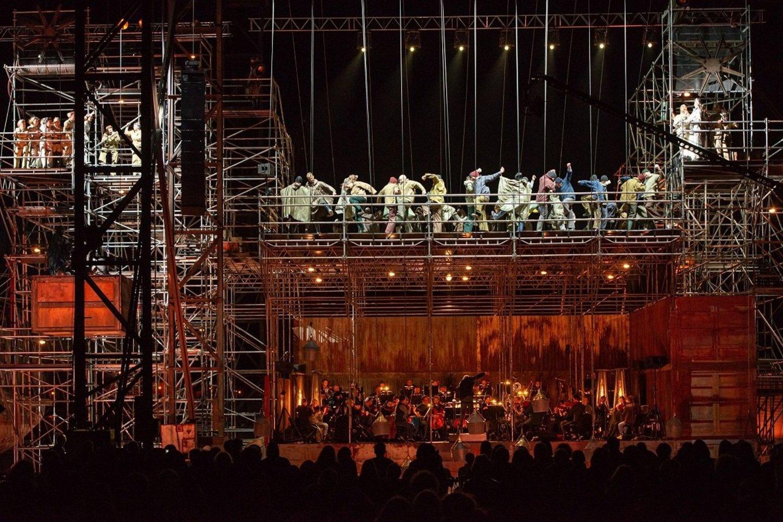 "Opera ""Skrajojantis olandas"".<br>M.Aleksos nuotr."