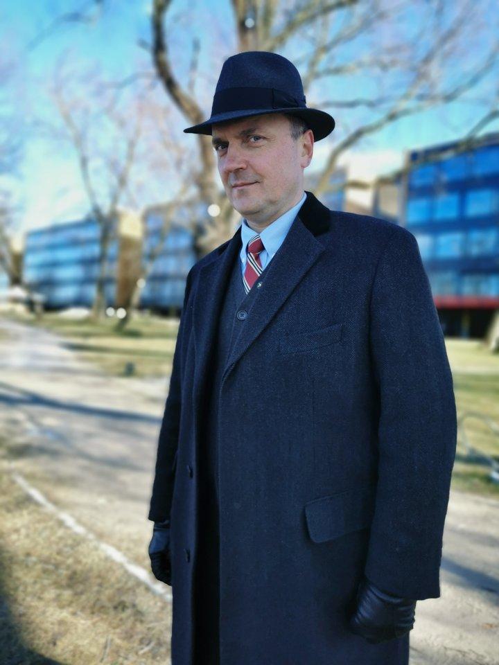 """G.Drukteinis """"Lietuvos ryto"""" televizijoje veda laidą """"Švarūs miestai"""".<br>Nuotr. iš asmeninio archyvo"""