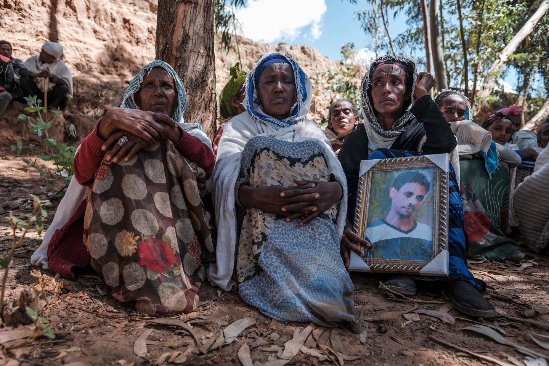 Tikėtina, kad šis pareiškimas žymi persilaužimą, siekiant užbaigti užsitęsusį konfliktą, paaštrintą žiaurumų prieš civilius.<br>AFP/Scanpix nuotr.