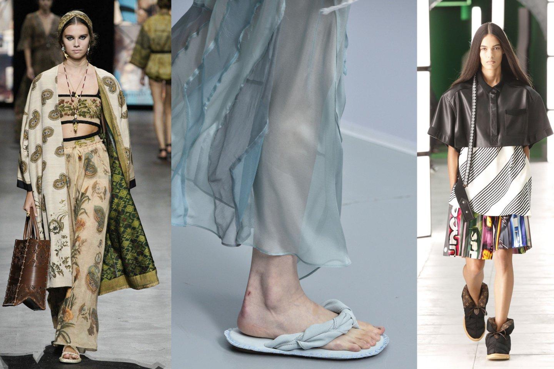Bene svarbiausi sezono aksesuarai, žinoma, yra batai ir rankinės.