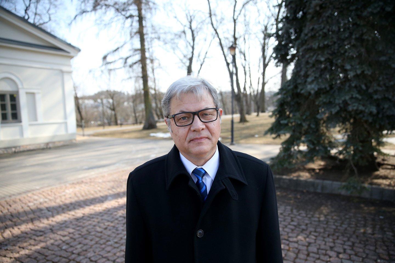 Lietuvos gyventojų genocido ir rezistencijos tyrimų centro (LGGRTC) direktorius Adas Jakubauskas.<br>R.Danisevičiaus nuotr.
