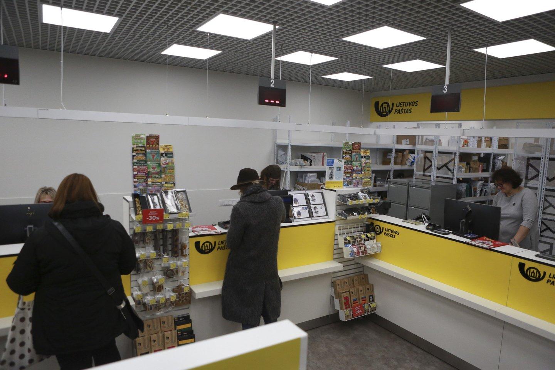 Siekdamas klientams greičiau pristatyti siuntas ir užtikrinti spartesnį aptarnavimą, Lietuvos paštas skelbia laikinai ilginantis dalies pašto skyrių darbo laiką.<br>G.Bitvinsko nuotr.