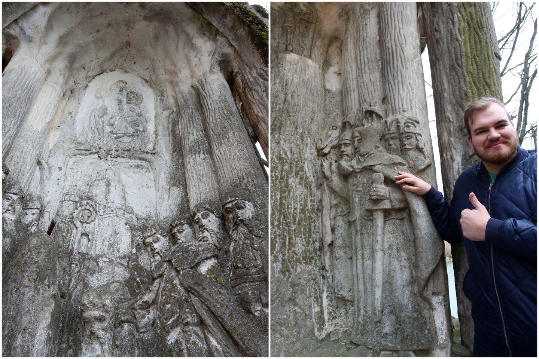 G.Daukšys pasakojo, kad koplyčios ir kitų paveldo objektų iki šiol niekas nesiėmė restauruoti.<br>M.Patašiaus nuotr.