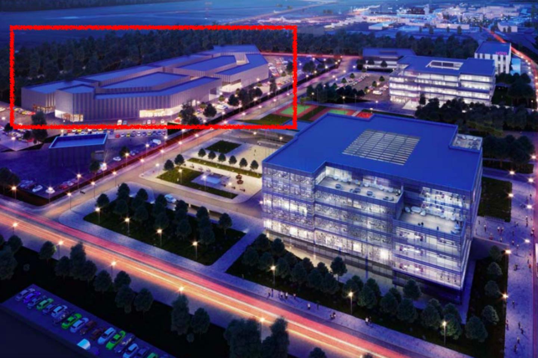 """Naujausiuose sostinės savivaldybei pateiktuose projektiniuose siūlymuose pristatomas patikslintas prekybinio miestelio projektas. Šis prekybos miestelis, kitaip dar vadinamas """"Vilniaus verslo ir prekybos parku"""", numatomas sklype tarp """"Ikea"""" prekybos centro ir oro uosto. Parko teritorijoje šiuo metu jau veikia parduotuvė """"Decathlon"""" ir viešbutis """"Park Inn"""", kuris atidarytas praėjusių metų spalio mėnesį.<br>Vizual."""