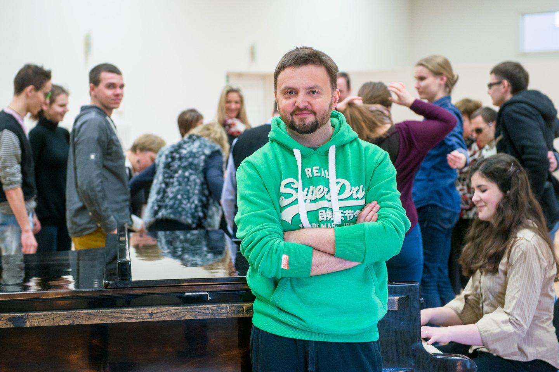 Stanislavas Stavickis-Stano.<br>J.Stacevičiaus nuotr.