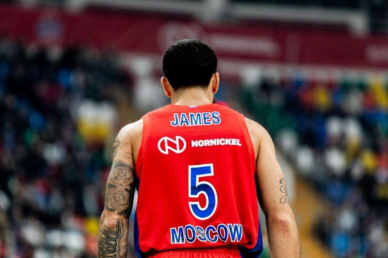 M.Jameso dienos CSKA suskaičiuotos<br>Scanpix nuotr.