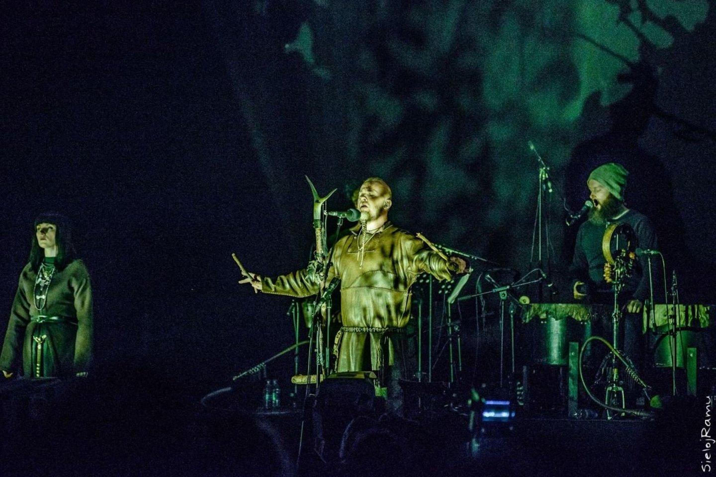 """""""Wardruna"""" pasirodymas Lietuvoje, baltiškos kultūros festivalyje""""Mėnuo Juodaragis XX"""", 2017 m.<br>M. Puidos nuotr."""
