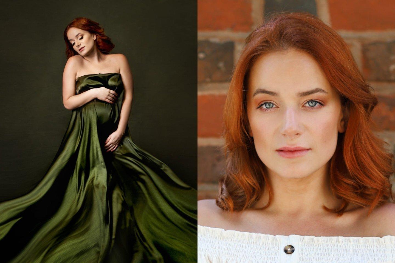 """""""Ieva Passion Photography"""" ir Design by A"""" nuotr.<br>Aktorė Marija Chlebopaševaitė-Vaidilė pagimdė pirmagimį."""