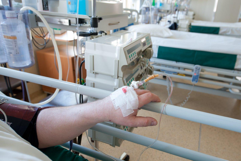 Vyras skundėsi Respublikinė Šiaulių ligoninės Priėmimo skyriaus darbu ir netaktiškomis replikomis.<br>V.Ščiavinsko nuotr.