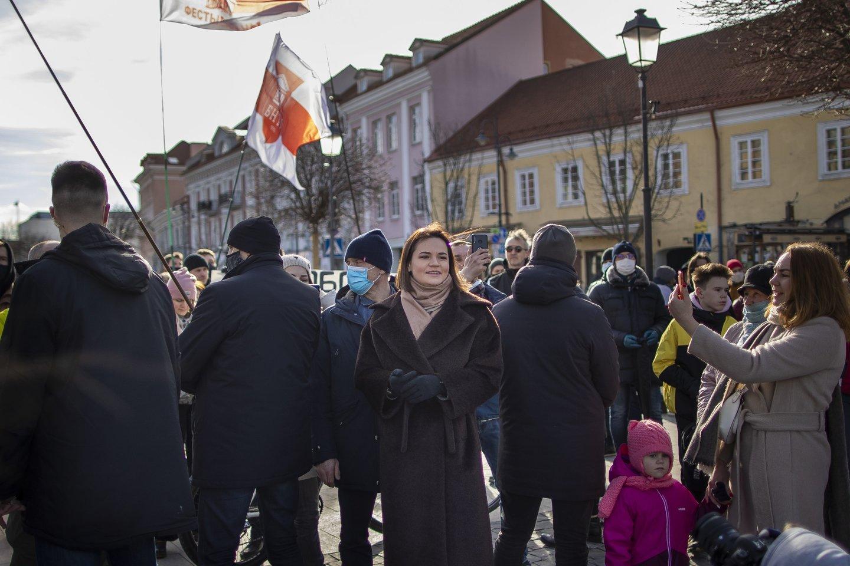 Net pati S.Cichanouskaja neseniai Vakarų spaudai pripažino, kad režimui pavyko atgauti gatvę.<br>AP/Scanpix nuotr.