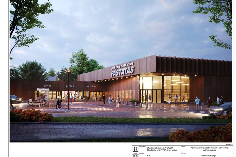 Vyriausiojo Vilniaus miesto architekto skyrius po atliktų korekcijų pritarė prekybos centro Džiaugsmo gatvėje projektiniams pasiūlymams. Projektas buvo kelis kartus taisytas atsižvelgiant į Pavilnio bendruomenės bei savivaldybės pastabas. Savivaldybė dėkojo Pavilnio bendruomenei už aktyvų įsitraukimą, vystytojui – už įsiklausymą į pastabas.<br>Vizual.