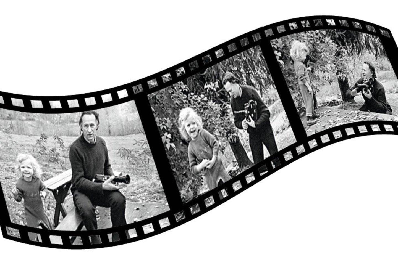 Savo dukters gimimą Niujorko ligoninėje 1974-aisiais J.Mekas nufilmavo, o kai kurie kadrai vėliau pateko į vieną jo filmų. Menininkas nuolat filmavo ir augančią dukrą.<br>S.Cambridge'o nuotr.