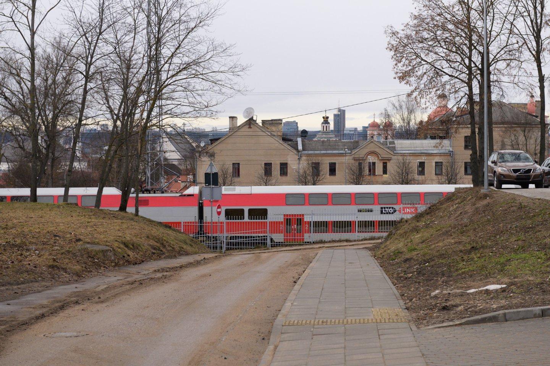 Traukinys<br>V.Skaraičio nuotr.