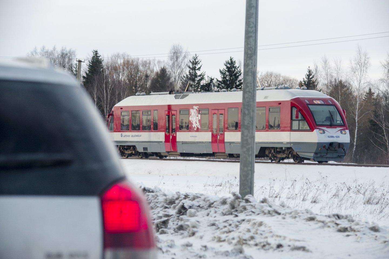 Traukinys<br>V.Ščiavinsko nuotr.