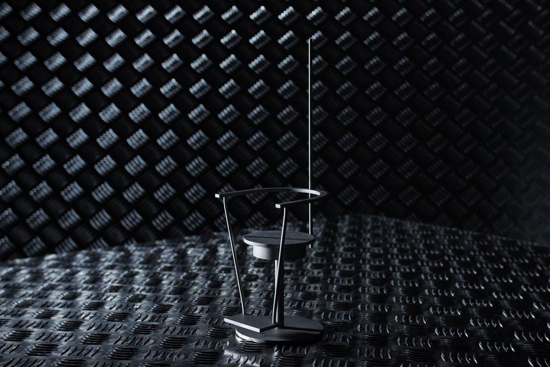 "Julijono Urbono projekto ""Baranio kėdė"" (2014) modelis.<br>Lietuvos erdvės agentūros nuotr."