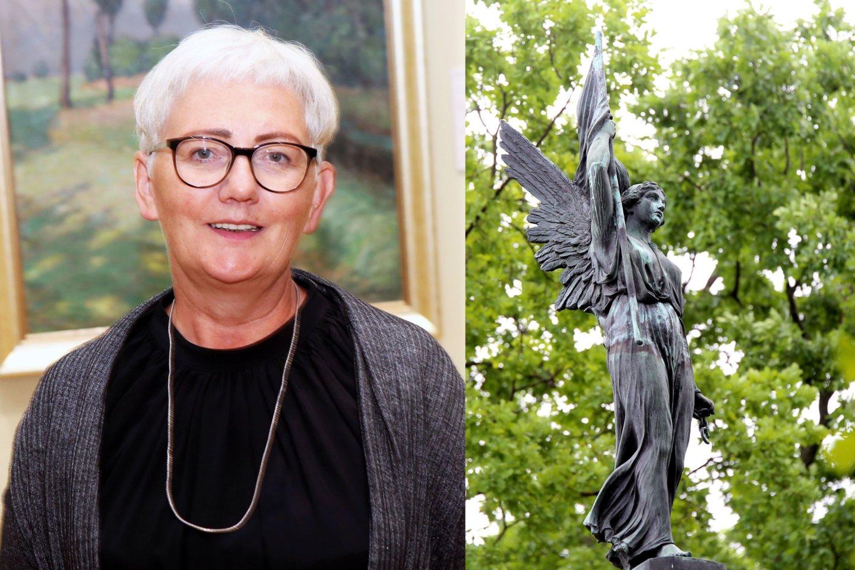 Kauno M.K. Čiurlionio dailės muziejaus direktorė Daina Kamarauskienė buvo šokiruota, kai sužinojo kodėl atmestas žymaus skulptoriaus muziejaus ekspozicijos projektas.<br>M.Patašiaus nuotr.