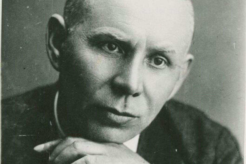 Skulptorius Juozas Zikaras.<br>M.K.Čiurlionio muziejaus nuotr.