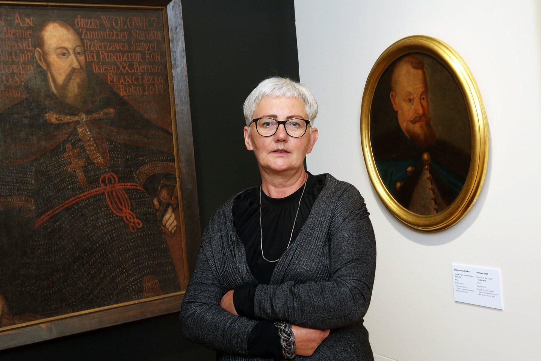Kauno M.K. Čiurlionio dailės muziejaus direktorė Daina Kamarauskienė nusprendė įžiebti diskusiją socialiniame tinkle.<br>M.Patašiaus nuotr.